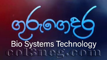 Guru Gedara - Bio Systems Technology (A/L) 18-05-2020