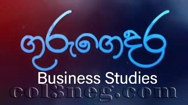 Guru Gedara - Business Studies (A/L) 18-05-2020