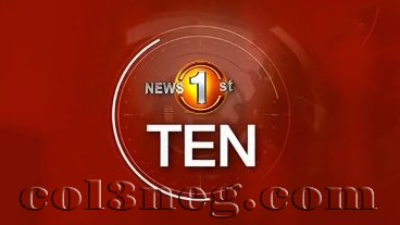 Sirasa News 1st 10.00 PM 05-04-2021
